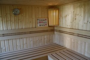 Ferienhaus Muschelsucher Sauna