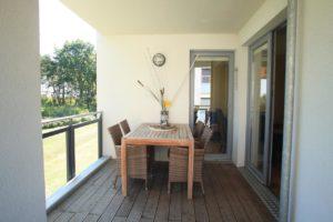 Ferienwohnung Romantica Balkon